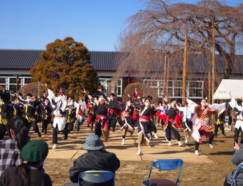 令和3年3月14日「南信州 芸能応援祭」を杵原学校応援団が応援しました!